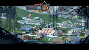 The Banner Saga Camp