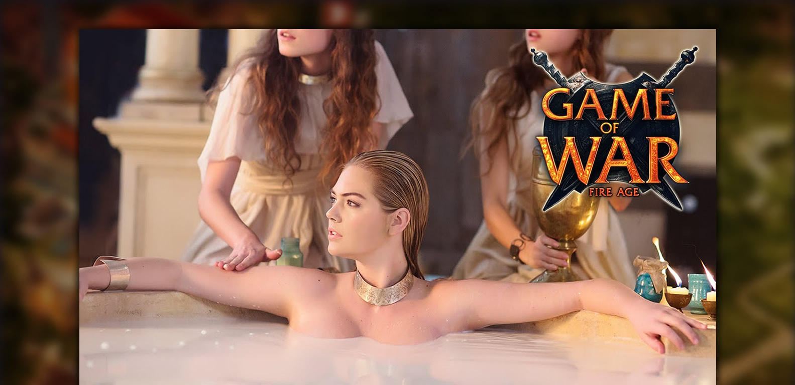 Game of War Fire Age Kate Upton