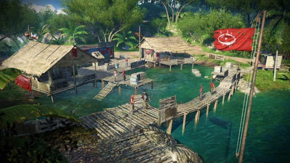 Far Cry 3 Pirate Camps