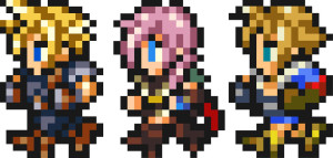 Final Fantasy Record Keeper Characters
