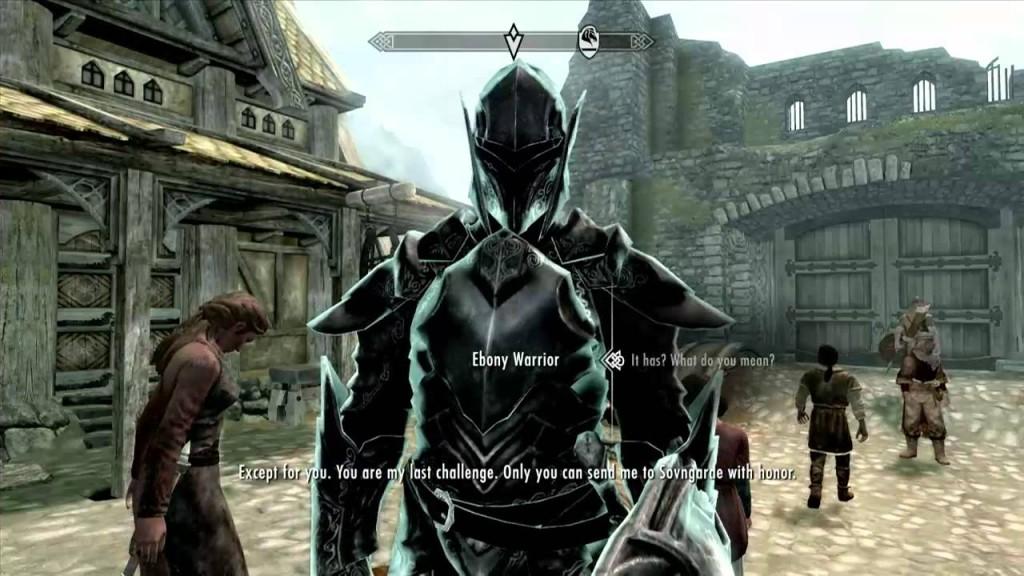 Skyrim Secrets Ebony Warrior