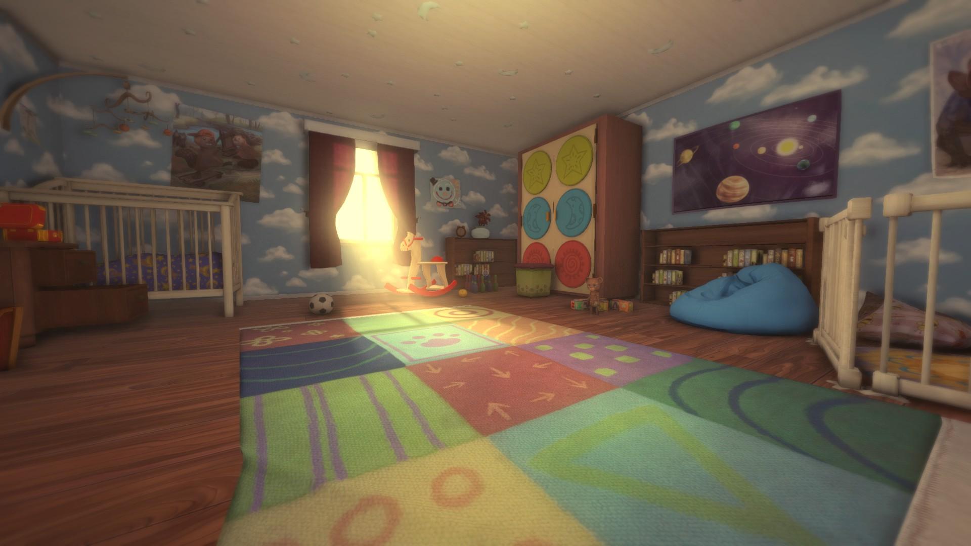 Among the Sleep Bedroom