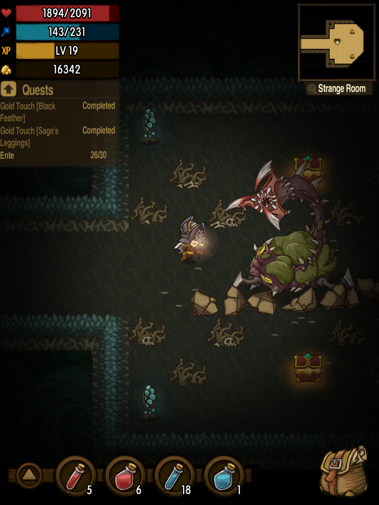 The Greedy Cave Boss