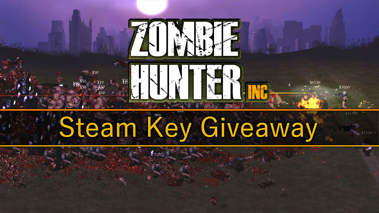 Zombie Hunter Inc Steam Key Giveaway