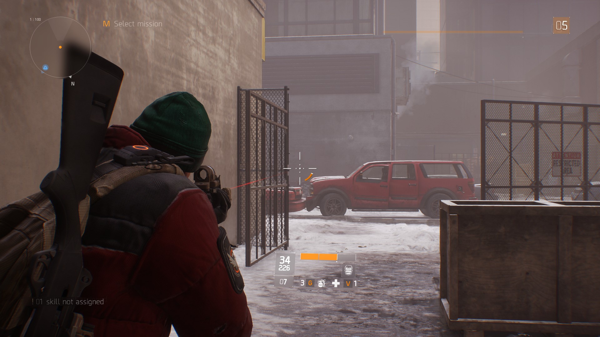 Tom Clancys The Division Gunplay