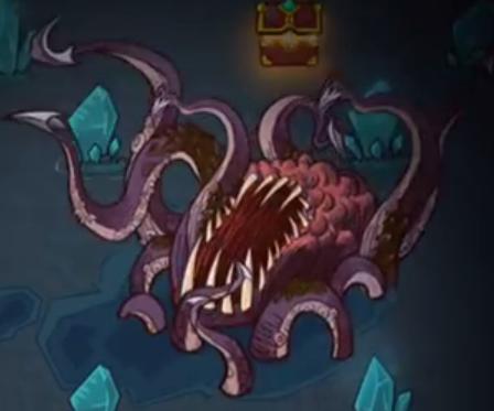 The Greedy Cave Kraken