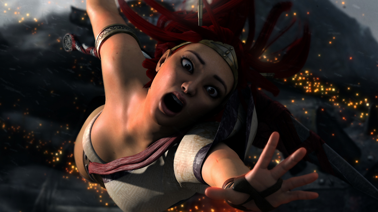 Heavenly Sword Movie Graphics