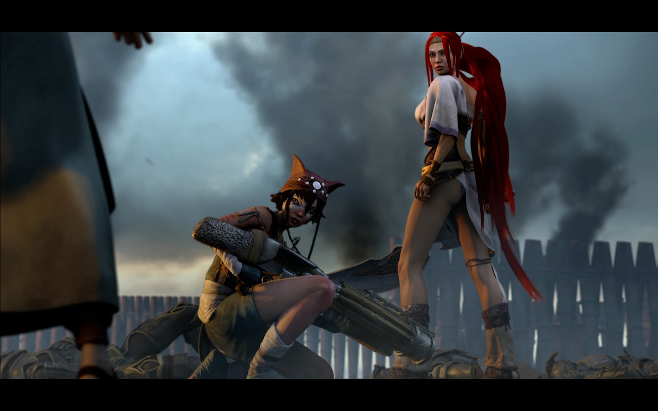Heavenly Sword Movie Still