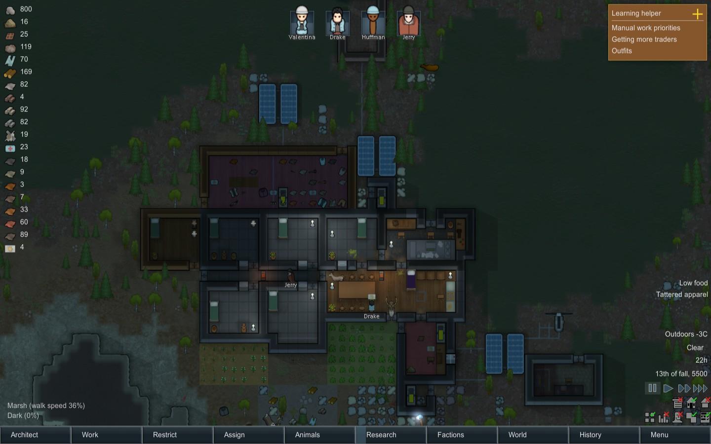 Rimworld Settlement