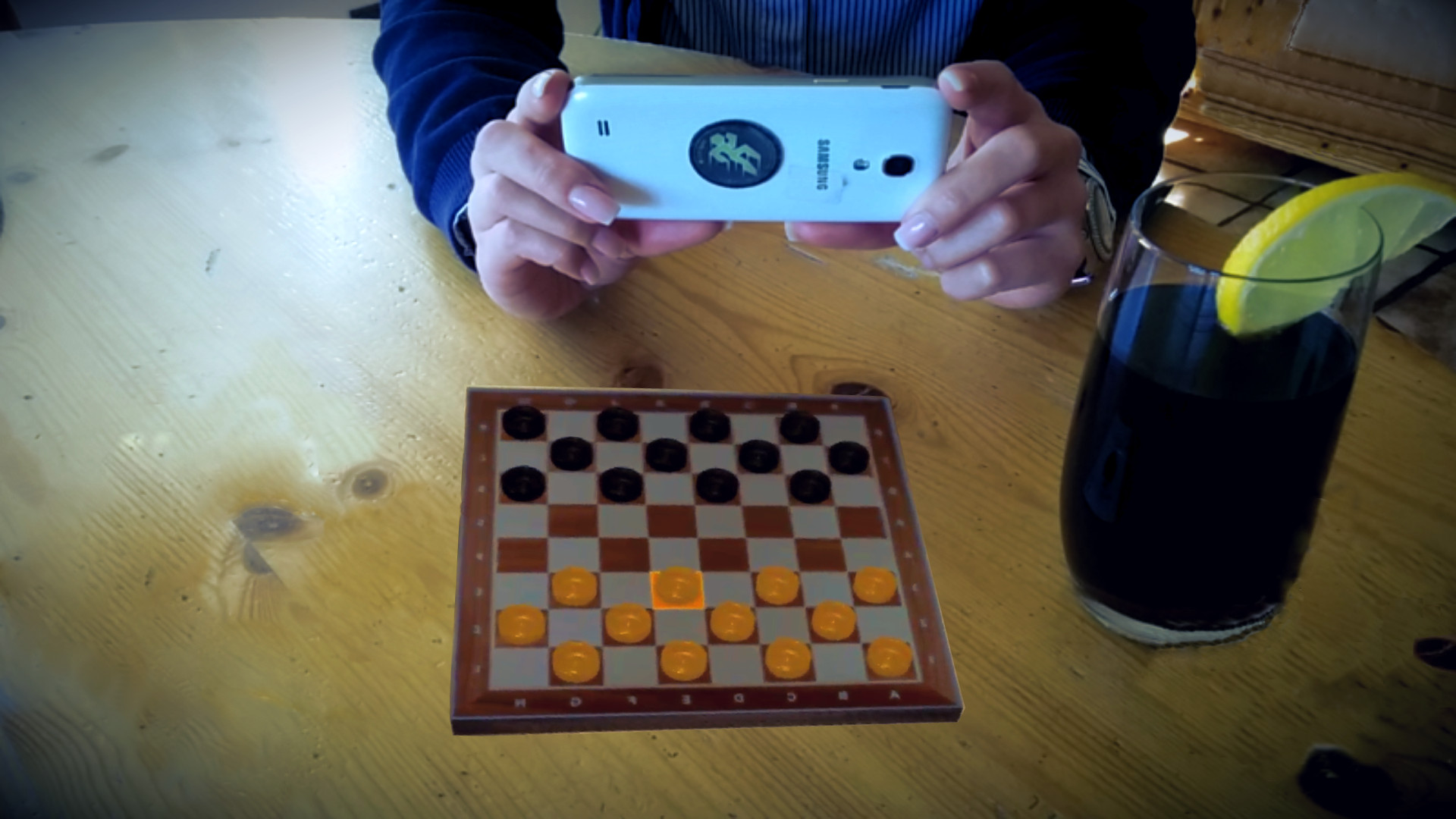 CheckARs Augmented Reality Checkers