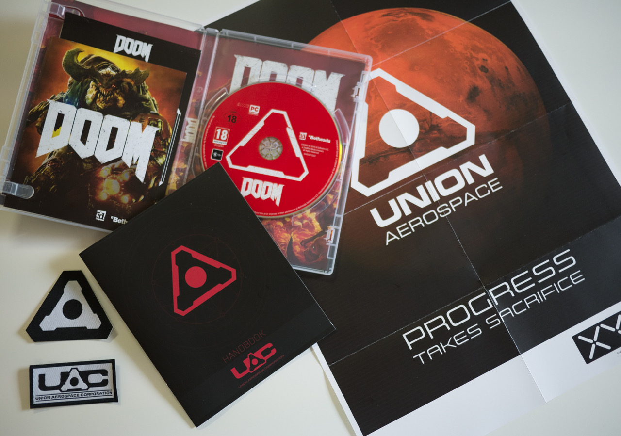 DOOM 2016 UAC Pack