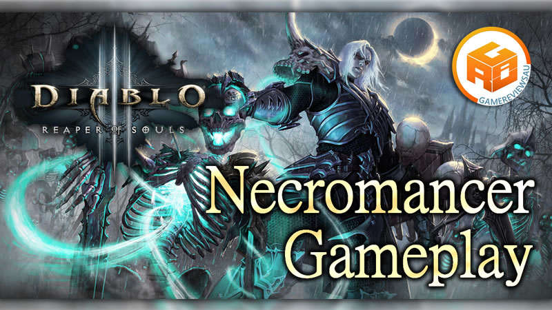 Diablo 3 Necromancer Gameplay