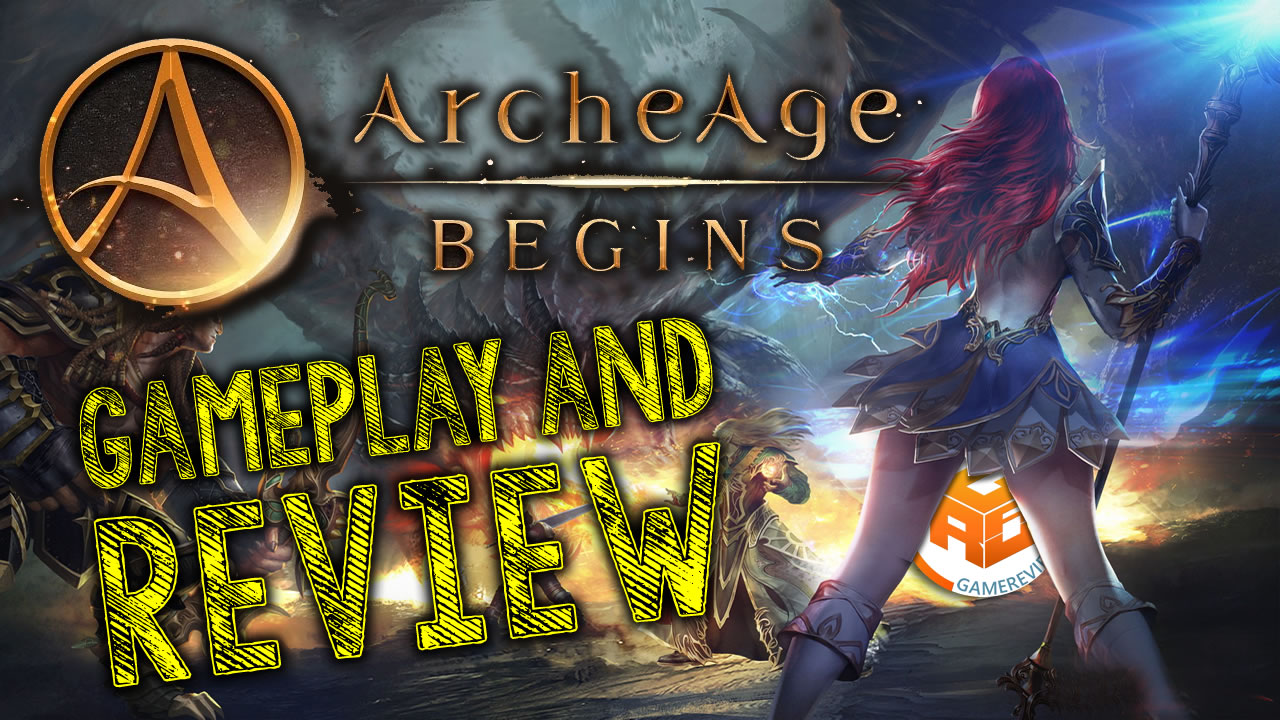 Arche Age Begins Gameplay and Review
