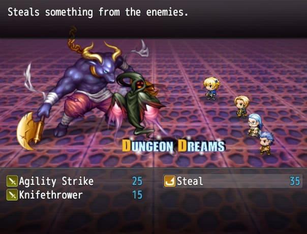 Dungeon Dreams Enemies
