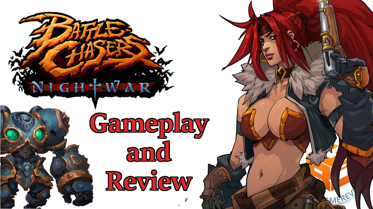 Battle Chasers Nightwar Gameplay and Review