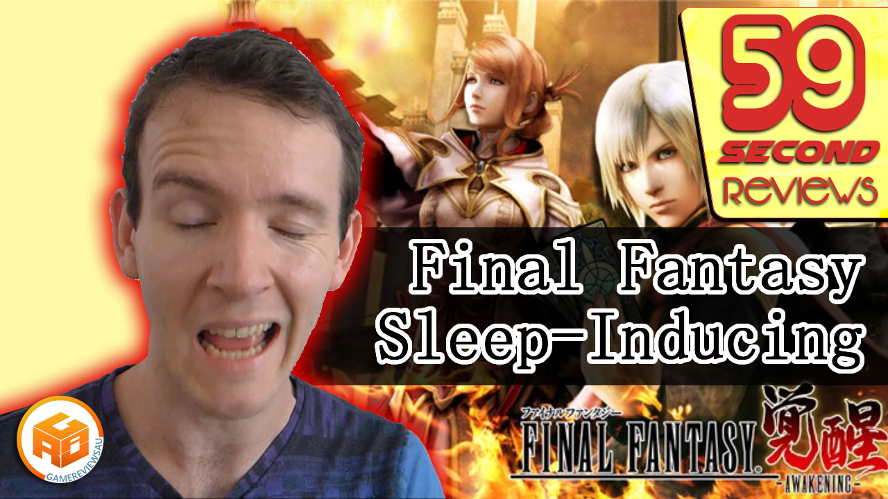 Final Fantasy Awakening 59 Second Review