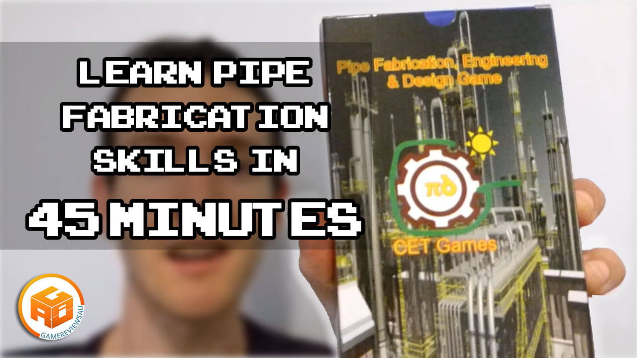 Pipe Fabrication, Engineering and Design Card Game