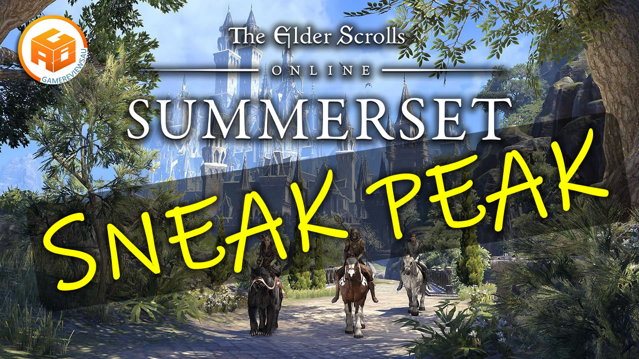 The Elder Scrolls Online Summerset Sneak Peak