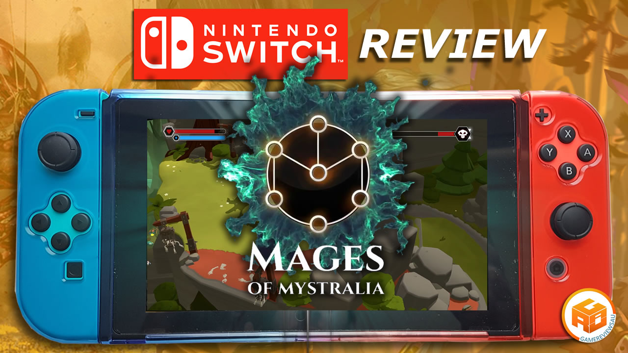 Mages of Mystralia gameplay and review
