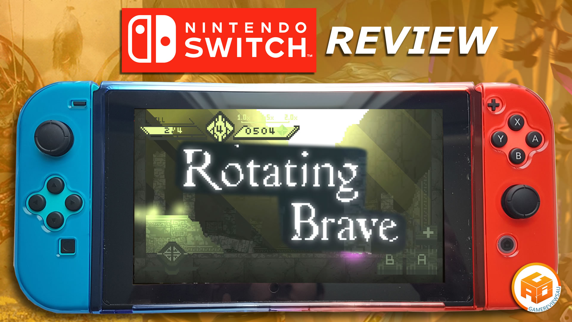 Rotating Brave gameplay and review