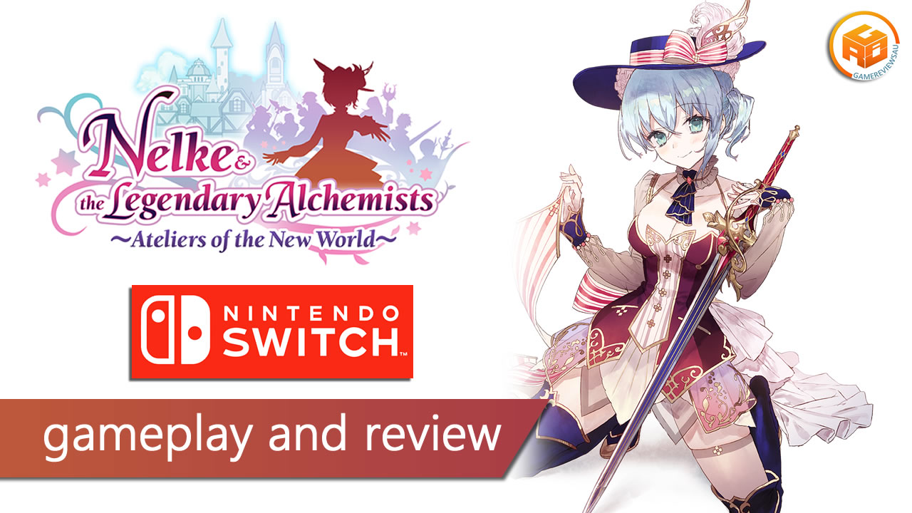 nelke and the legendary alchemists gameplay and review