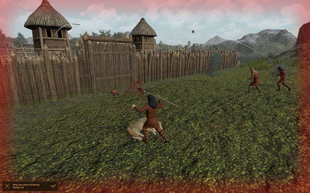Dawn of Man Raider Attack